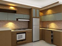 furniture minimalist appliances and hitech kitchen set for