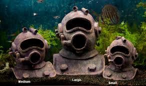 Yup Diving Helmet Aquarium Ornament Aquarium Decorations & Ornaments