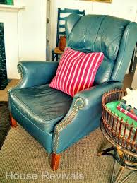 How To Dye Leather Sofa House Revivals How To Dye A Leather Sofa Or Chair