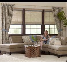 woven wood roman shades with side panels yelp
