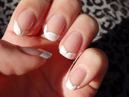 safari french tip manicure adjusting beauty