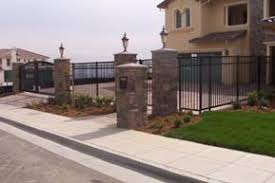 ornamental iron and chain link fencing serving the bay area