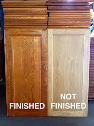 Unfinished Kitchen Cabinet Doors Only Cabinet Doors Unfinished Oak Roselawnlutheran