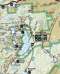 First Landing State Park Trail Map by Pharaoh Lake Wilderness