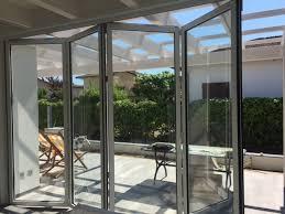 veranda a libro fass serramenti pistoia toscana infissi alluminio e pvc