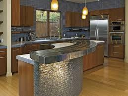 kitchen curved kitchen island and 50 interior brown wooden