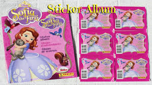 halloween sticker books disney sofia the first sticker album youtube