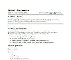 Marketing Resume Objective Sample by Resume Objective Examples Career Change Example Career Change
