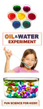 Backyard Science Games Fun Science For Kids Oil U0026 Water Experiment Great For All Ages
