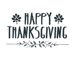 happy thanksgiving word