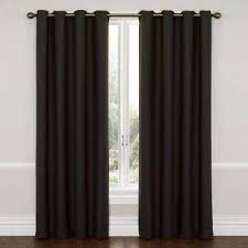100 Inch Blackout Curtains Eclipse Curtains U0026 Drapes Window Treatments The Home Depot
