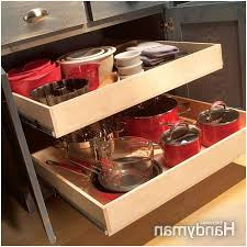 organizing pots and pans in a small kitchen comfy organize
