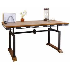 Industrial Writing Desk by Abbyson Living Md 30380 Northwood Industrial Writing Desk
