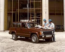 first jeep cherokee jeep cherokee specs 1984 1985 1986 1987 1988 1989 1990