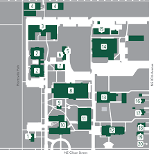 Campus Map Oregon State by Campus Map Multnomah University