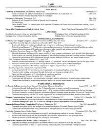 Cover Letters For Resumes Sample by Career Services At The University Of Pennsylvania