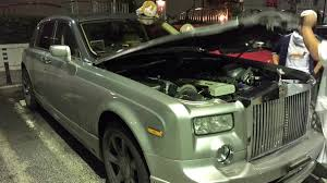 roll royce jeep someone built a twincharged 2jz powered rolls royce phantom the