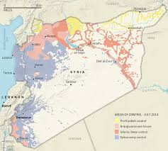Syria Battle Map by Flita Today In Syria