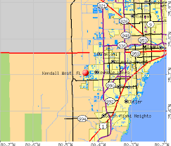 Jacksonville Florida Map With Zip Codes Kendall West Florida Fl 33185 Profile Population Maps Real