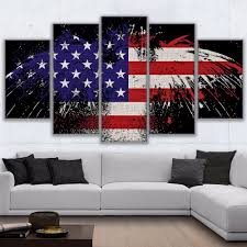 American Flag Home Decor American Flag Painting Promotion Shop For Promotional American