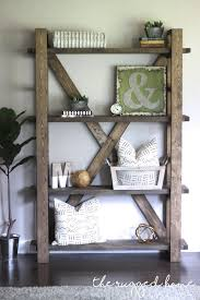 Easy Crate Leaning Shelf And by Diy Bookshelf Build Shelves Shelves And Easy
