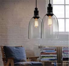 hanging glass pendant lights modern crystal bell glass pendant lights glass hanging light