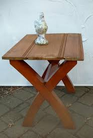 Upcycled Side Table Farmhouse Style Upcycled Side Table In Bergen County Westwood