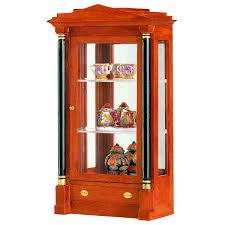 wood and glass cabinet biedermeier glass cabinet 40105