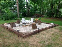 Rocks For Firepit Outdoor Pit Ideas Brilliant Backyard Rock Pit Ideas