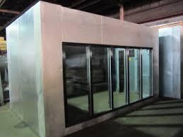beverage cooler glass door used glass door display walk in coolers and beer caves