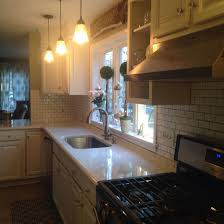Grout Kitchen Backsplash by My White Kitchen Dreams Have Come True Viatera Minuet Quartz
