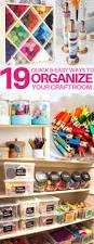organizatoin hacks 19 ingenious craft room organization hacks you u0027ll love house good