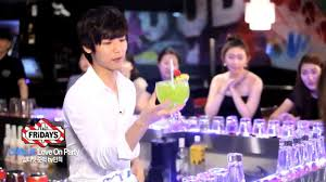 120813 the bartender making cocktails go cnblue min hyuk youtube