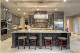 kitchen island colors with wood cabinets 50 gorgeous kitchen designs with islands designing idea