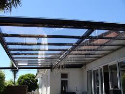 pergola parts stratco flat roof close up louvre minimalist