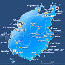 santa map paros santa paros beaches greeka com
