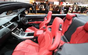 land rover inside view all new range rover evoque convertible
