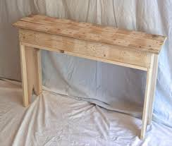 Hallway Accent Table Diy Pallet Hall Table Sofa Side Table Pallet Furniture Diy