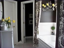 Large White Wall Tiles Bathroom - bathroom wonderful white and silver bathroom large black kitchen