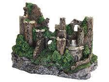 castle aquarium decorations ebay