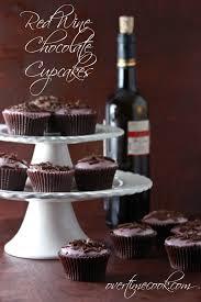 wine chocolate wine chocolate cupcakes with wine glaze overtime cook