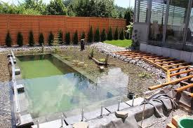 diy backyard pond outdoor furniture design and ideas