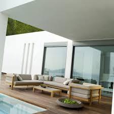canape d exterieur design canapé d extérieur concept modulaire sofa tribù saisons