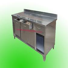 Commercial Kitchen Cabinet Yeolabcom - Commercial kitchen stainless steel tables