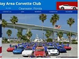 corvette clubs in florida bay area corvette