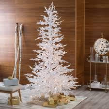 hard needle slim pre lit twig christmas tree by sterling tree