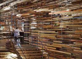 Wood Interior Design by Festival Interior Design Awards 2015