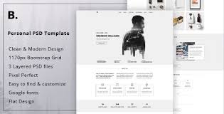 minimalistic resume psd settings content flash player minimal personal website templates from themeforest