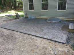 paver patio lexington ma concord stoneworks patio paver edging
