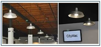 industrial style ceiling lights stylish barn lights add industrial flavor to computer store blog